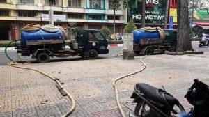 hút hầm cầu tại phường Hòa Minh, quận Liên Chiểu