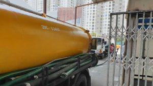 hút hầm cầu tại phường Thạc Gián, quận Thanh Khê