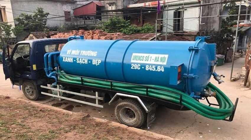 hút hầm cầu tại phường Thanh Khê Đông, quận Thanh Khê